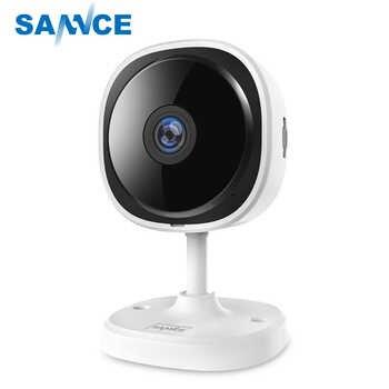 SANNCE HD 1080P Fisheye IP Camera Wireless CCTV Mini Wifi Camara Night Vision IR Cut Home Security Camara Wi-Fi Baby Monitor - DISCOUNT ITEM  60% OFF All Category