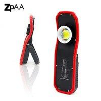60 Вт яркая Рабочая лампа портативный фонарик USB Перезаряжаемый светодиодный магнитный COB Lanterna подвесной крючок лампа для кемпинга