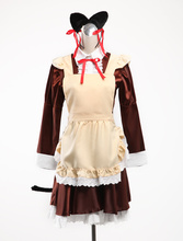 Mi Pequeña Hermana no Puede Ser Este Lindo Oremo Gokou Ruri Kuroneko traje De Halloween Cosplay Maid Version