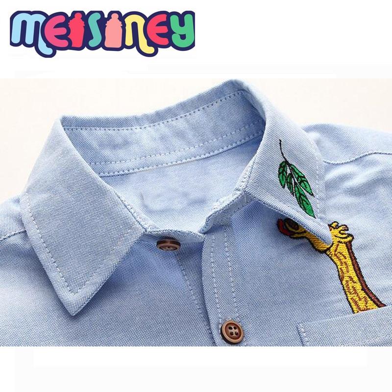 Lange mouwen shirt met lange mouwen lente en herfst nieuwe cartoon - Kinderkleding - Foto 4