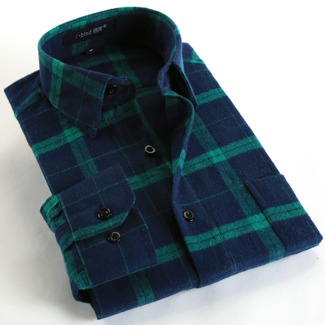 Men's Casual Plaid Shirt (18 Colors)
