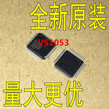 xzhongx 2pcs/lot VS1053 VS1053B VS1053B-L QFP speech coding and decoding chip 100% new original quality assurance In Stock free shipping 2pcs lot ar8151 a ar8151a ar8151 qfn 100% new original quality assurance