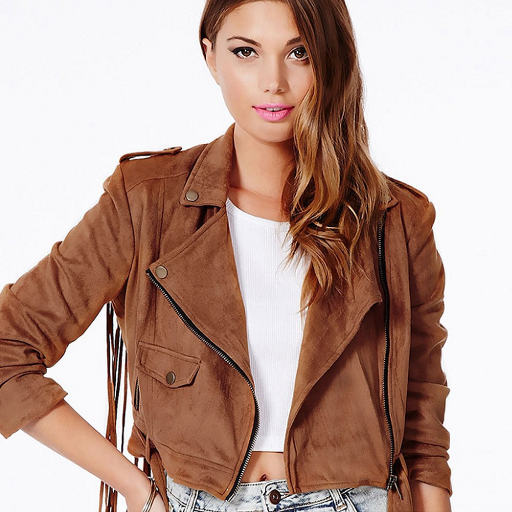Online Get Cheap Designer Leather Jackets Women -Aliexpress.com ... Online  Get Cheap Designer Leather Jackets Women Aliexpress Com - Brown Leather Vest Womens Photo Album - Watch Out, There's A