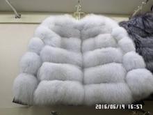50cm  long  fox  fur  coat