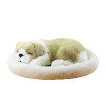 Plush Toy Animal Simulation Sleeping Dog Doll Kids Toys Mini Ursos De Pelucia Plush Dogs Baby Knuffel Gift For Baby Girl 80G0364
