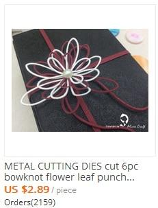6 metal cutting dies