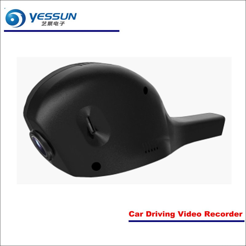 YESSUN For Volkswagen VW Sharan Car DVR Driving Video Recorder Front Camera Black Box Dash Cam - Head Up Plug Play OEM yessun car front camera for audi a6 high edition dvr driving video recorder black box dash cam head up plug oem 1080p wifi