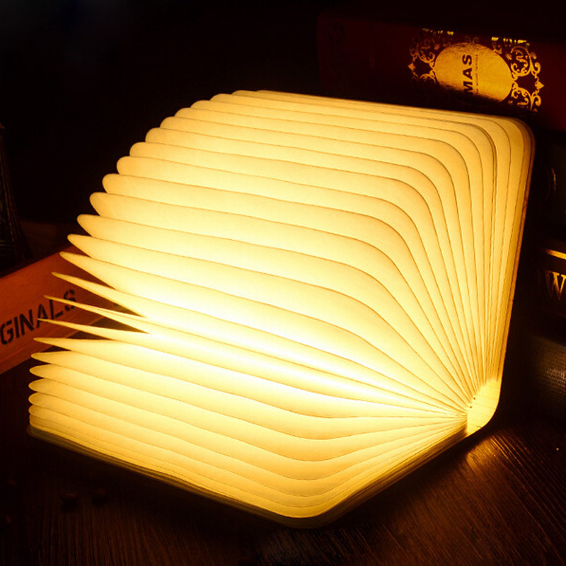 CHENGYILT Book Style Design Reading Light Fold LED Night Light 3.7V 2500mAh USB Rechargeable Page Desk Lamp Read Study Lamp involight led arch420t page 9