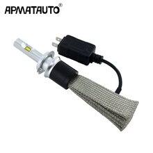 2Pcs/set 12V Car Headlight H4 LED H7 H11 HB4 HB5 9005 9006 9012 90W 9600LM for Flip chip Auto Headlamp 6500K Led Light Plug&Play