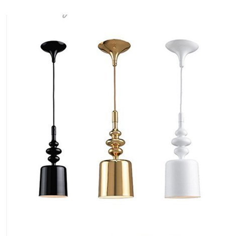 Modern Pendant lamps creative personality art designer gold iron lamp simple restaurant bar hotel Pendant Lights FG457 17cm the iron throne game of thrones a song of ice and fire action figure toys sword chair model toys chirstmas gift