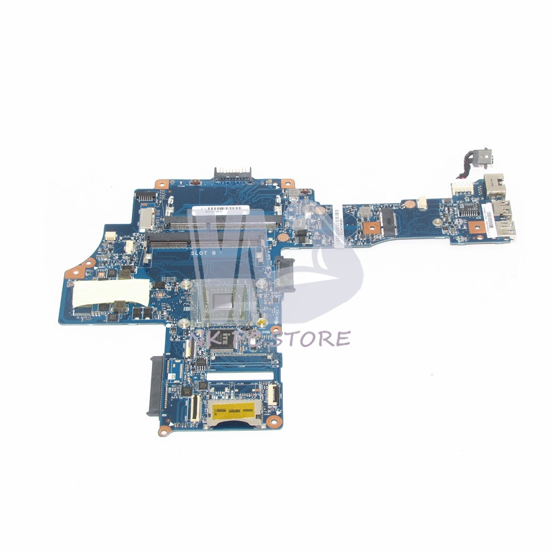 H000079530 Main Board for Toshiba CA10AN/AB Laptop motherboard CA10AN/AB UMA MB REV:2.1 DDR3 with CPU Onboard 815248 501 main board for hp 15 ac 15 ac505tu sr29h laptop motherboard abq52 la c811p uma celeron n3050 cpu 1 6 ghz ddr3