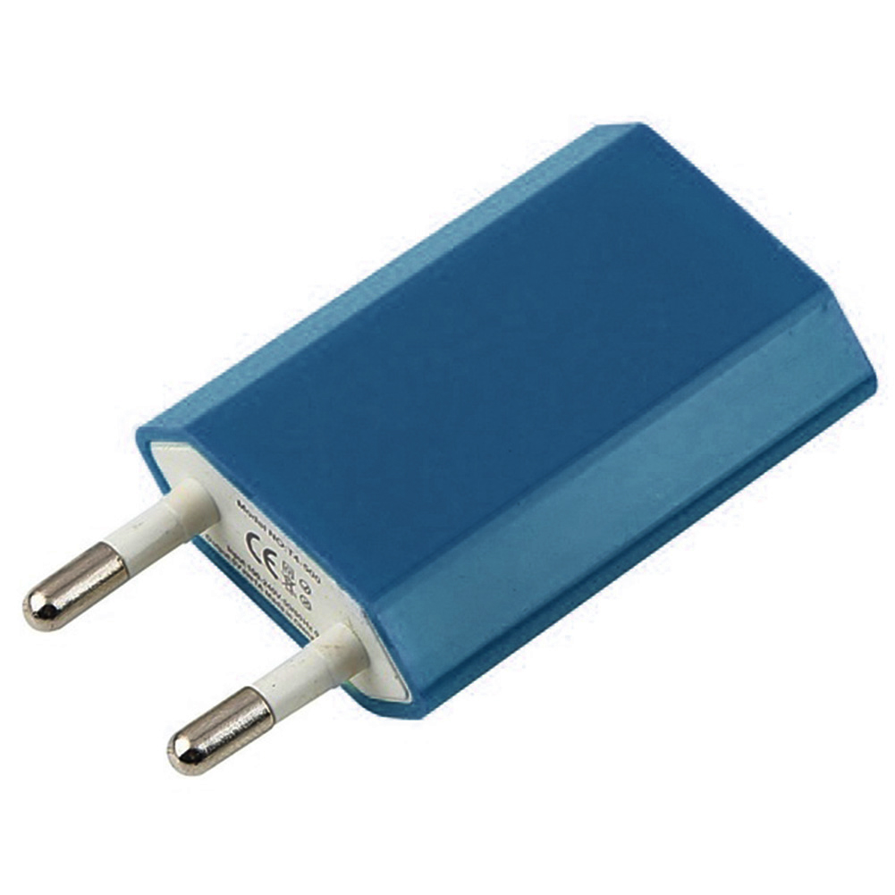 High Quality EU Plug USB Charger Adapter AC100-240V DC5V/1A Mobile Phone Wall Charger Adapter