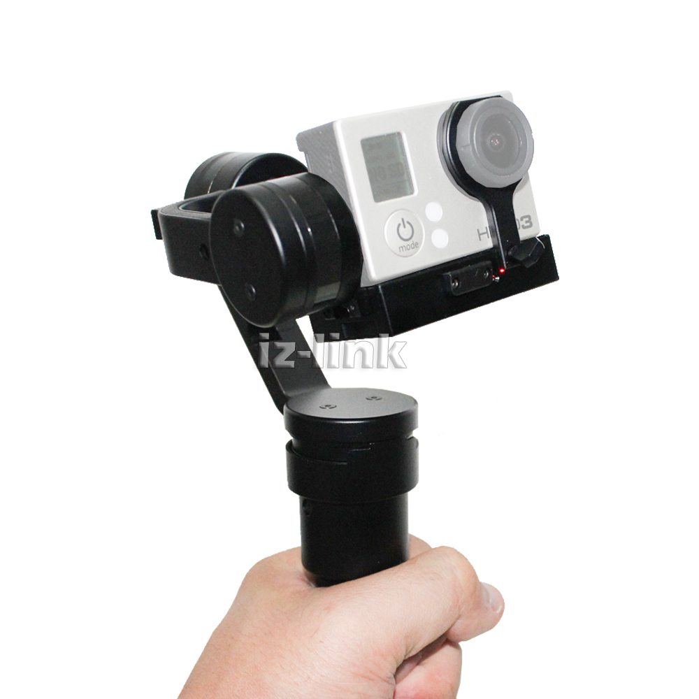 ALUMOTECH Hand Held Stabilizer Beholder Gopro3 Gopro4 New 3 <font><b>axis</b></font> handheld Gimbal