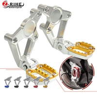 For Honda X ADV 750 XADV 2017 2018 Motorcycle Footrest Rear Sets Articular Footpeg Foot Pegs Moto Scooter Platforms Footboard