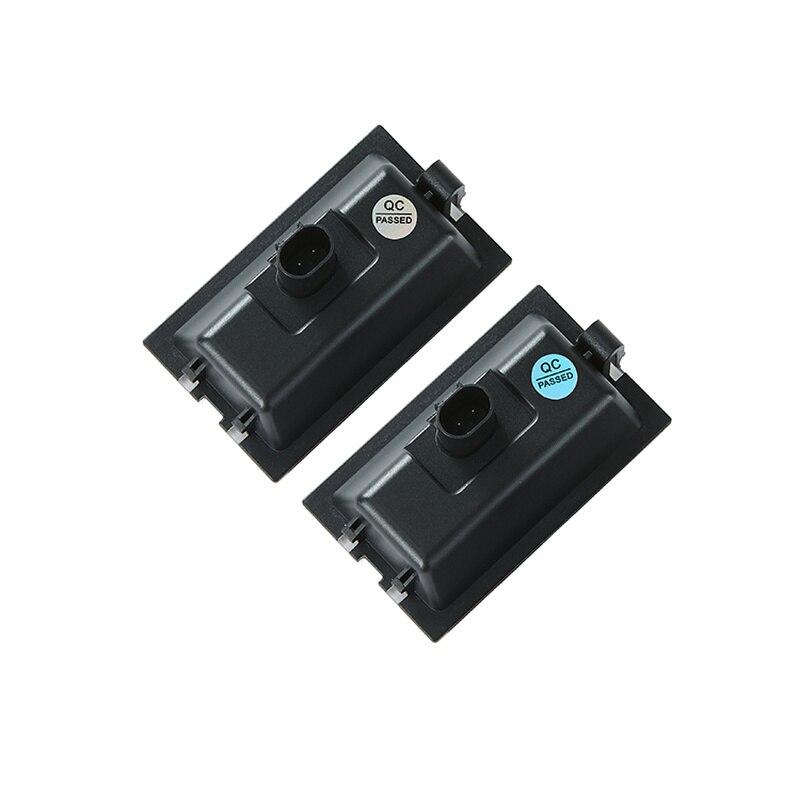 4 2 2pcs Car LED License Plate Lights For Land Rover LR3 LR4 discovery 3 4 Freelander 2 Rang Rover Sport  12V Number Plate Lamp (4)