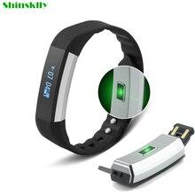 K1 smart Сердечного ритма Фитнес трекер шаг счетчика активности Мониторы Smart Браслет вибрации браслет для IOS Android телефона