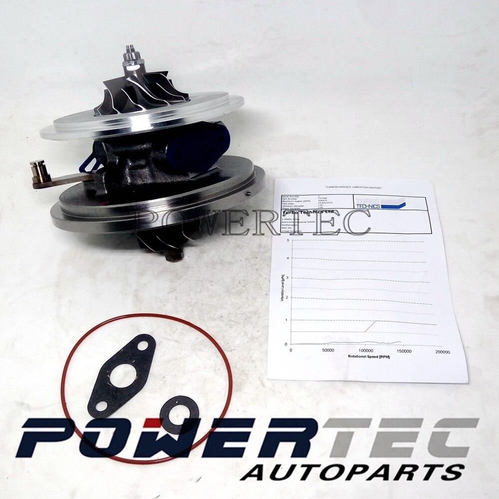 Nouveau Garrett turbo lcdp 753546-5023 s 753546 turbocompresseur core cartouche pour Land-Rover Freelander II 2.2 TD4 DW12B 112Kw 118Kw