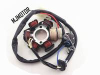 DIO 50cc 6 / 8 Coil Stator DC Magneto Alternator Stator For Chinesse QJ Keeway Scooter Honda ZX50 18 28 ATV Motorcycle Part