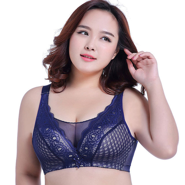 11cf361106895 KL165 Women nylon full cup sexy lace push up bras solid figure sutian no  rims no padding bralette big size