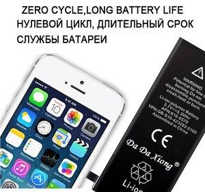 Image 2 - 100% originele Merk Da Da Xiong 1440mAh Genuine Li Ion Mobiele Telefoon Accessoire Vervangende Batterij voor iPhone 5 5G