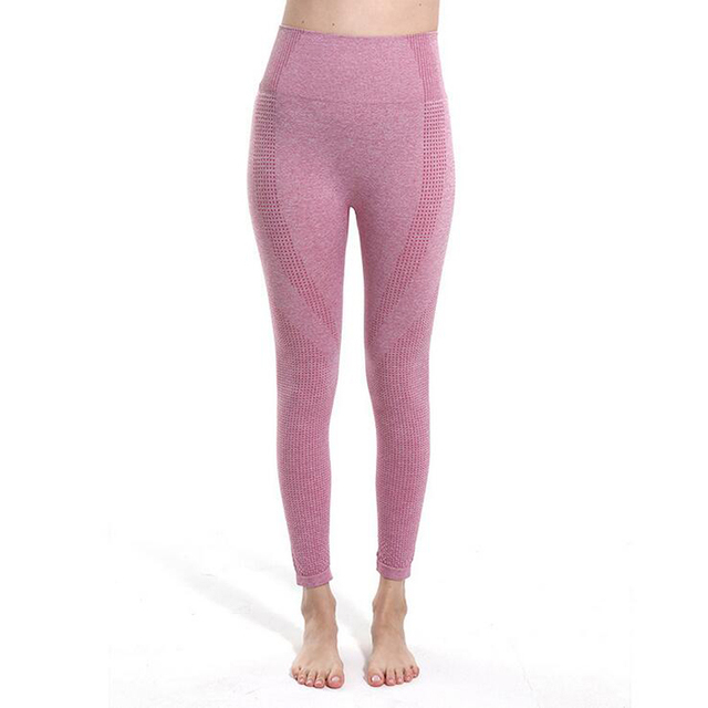 New Seamless Women Leggings Sport Yoga Pants Running Trousers Tights Gym Training Legging Sport Femme Fitness Exercise