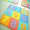 Foma Puzzle Mat 30cm 10Pieces/Lot EVA Kids Rug Waterproof Floor Multifunctions Carpet Indoor Room Decoration Split Mat Gifts