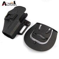 Tactical CQC Compact Handgun Belt Holster Quick Draw Right Hand Gun Holster W Belt Loop For