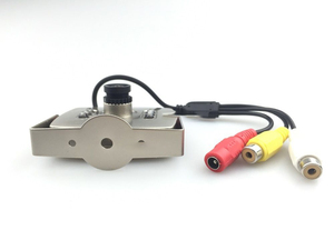 Image 1 - CCTV Lente de 2.8mm de Áudio e Vídeo HD 1000TVL Cor MIC Analógico IR MINI Câmera Do Carro