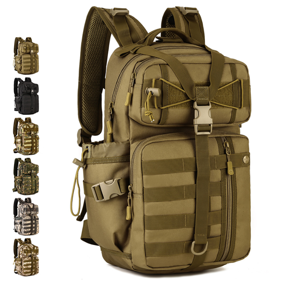 Military Assault Men s Rucksack School Book Bag Travel Laptop Bags Knapsack Male High Quality Waterproof