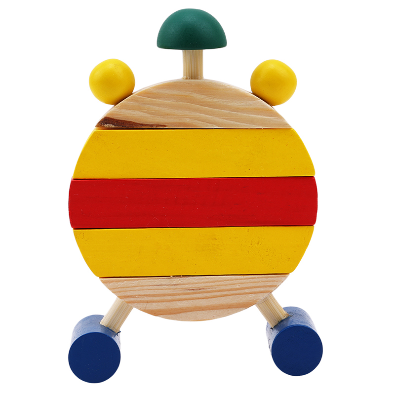 Image 4 - 1 Pc Montessori Wooden Puzzles Toys For Children Digital Time Learning Education Educational Game Infant Kids Mini Puzzle Clock-in Puzzles from Toys & Hobbies