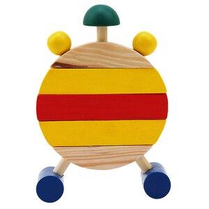 Image 4 - Puzzle en bois Montessori, jouets éducatifs à lheure numérique pour enfants, jeu éducatif, Mini Puzzle, 1 pièce