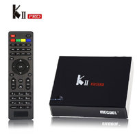 MECOOL KII PRO DVB S2 DVB T2 Android TV Box Amlogic S905 Quad Core 2GB 16GB