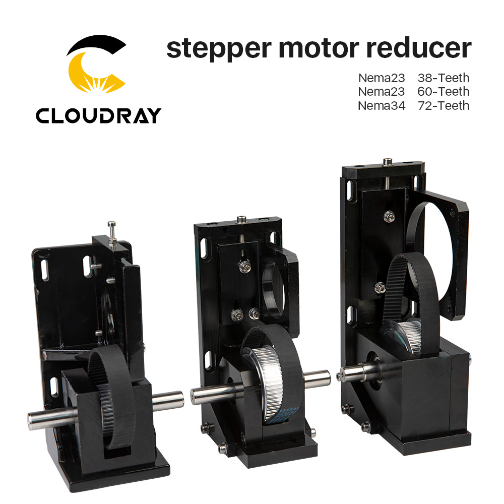 Cloudray Stepper Motor Reducer Nema23 38 Teeth Nema23 60 Teeth Nema34 72 Teeth for CO2 Laser