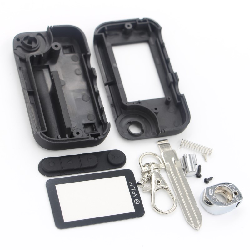 Starline A92 uncut blade fob case cover A92 A95 V63 T94 folding car flip remote + A92 Glass цена