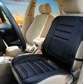 Caliente 12 v caliente de la calefacción del coche de invierno cubierta de asiento del asiento de coche cojín amortiguador del coche eléctrico calentado cubre