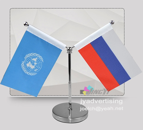 Adjustable Pole Y Mode Quality Mini Car Flag Stand In