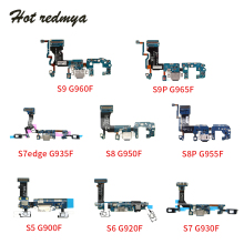 Charging Port Flex Cable For Samsung Galaxy S5 S6 S7 S7edge S8 S8P S9 S9Plus USB Charger Charging Dock Port Connector Flex Cable цена