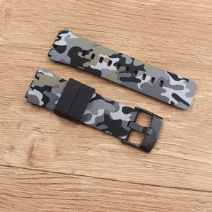Image 4 - Heat Original quality watchband Accessories watch strap band For Swatch for Touch series Silicone  stainless buckle logo SURB100