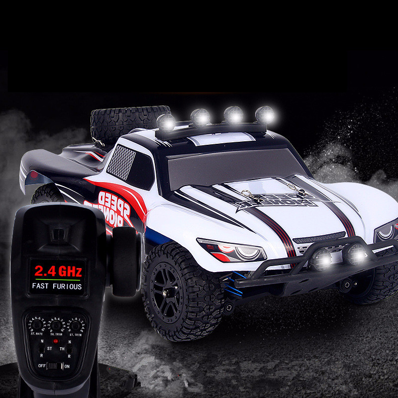 Radio-controlled Jeeps Full-scale High-speed Car Rc Remote Control Four-wheel Drive Off-road Bigfoot Climbing Car Toy Brinquedos wltoys 12402 rc electric truck supper car 1 12 4wd 2ch radio remote control high speed off road monster climbing car vehicle toy