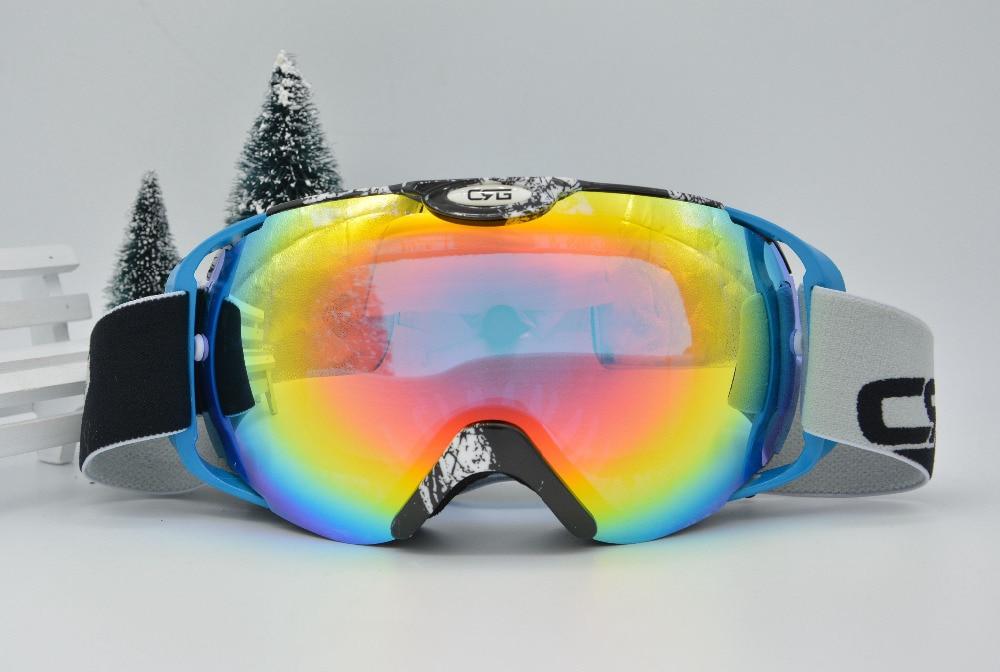 discount ski goggles mnt9  Free Shipping Women's Men's dual lens Unisex snow