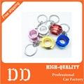 Car Metal key Chain Keychain Steering Wheel Quick Release Keyrings Key Rings Buckle Fob Colorful