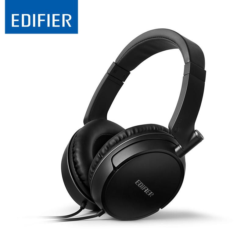EDIFIER P841 Headset Earphone Comfortable Noise Isolating Over Ear Headphones With Microphone And Volume Controls HiFi