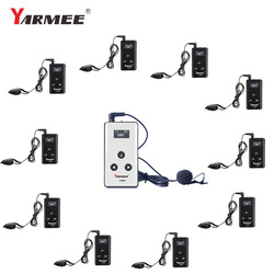 YARMEE Wireless Audio Guide System One Way Walkie Talkie  for Museum Tour Guiding,Simultaneous Interpretation