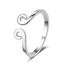 Everoyal Personality Lady Clouds Rings Jewelry For Women Fashion 925 Sterling Silver Ring Girls Accessories Lucky Bijou
