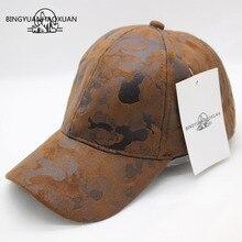 BINGYUANHAOXUAN Brand Quality Hip Hop Hats Autumn Winter Men Women Baseball Cap Camouflage Snapback Bone High-Grade Cowboy Hat