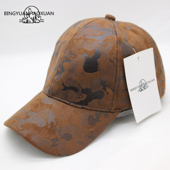 BINGYUANHAOXUAN Brand Quality Hip Hop Hats Autumn Winter Men Women Baseball Cap Camouflage Snapback Bone High-Grade Cowboy Hat leucosticte fashion solid color wool snapback baseball cap new brand winter autum hip hop flat hat women drop shipping