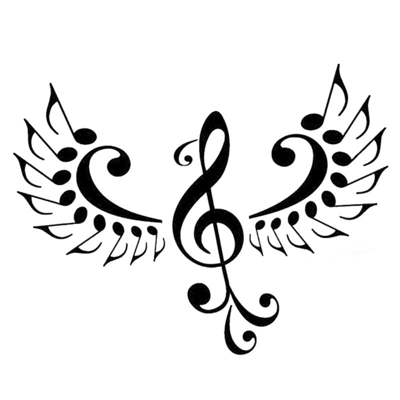 Картинка птица музыки