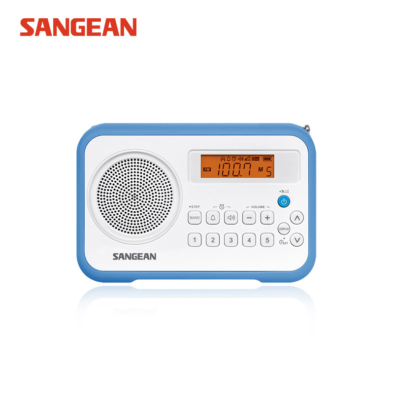 Sangean PR-D18 AM / FM / Clock Tragbares Digitalradio
