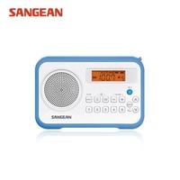 Sangean PR D18 AM/FM/Clock Portable Digital Radio