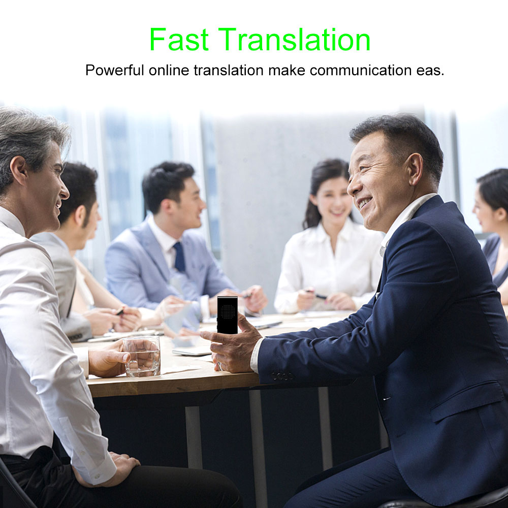 Portable Mini Multi Language Smart Translator 42 Languages APP Translator Bluetooth Wireless Two Way Real Time Instant Voice